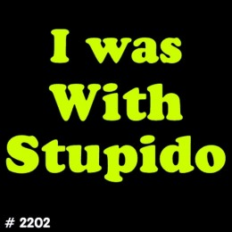 Stupido T-Shirt Decal