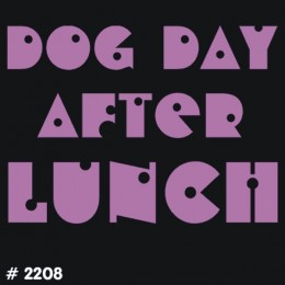 Dog Day T-Shirt Decal