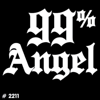 Angel Iron-on Decal