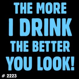 More Drink T-Shirt Decal