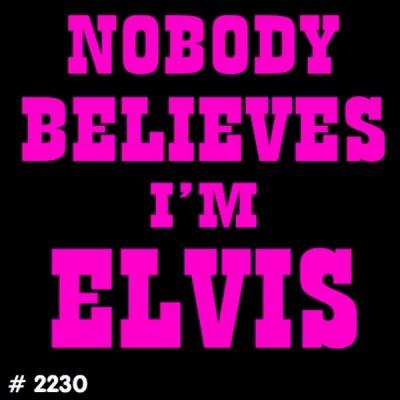 I am Elvis T-Shirt Decal