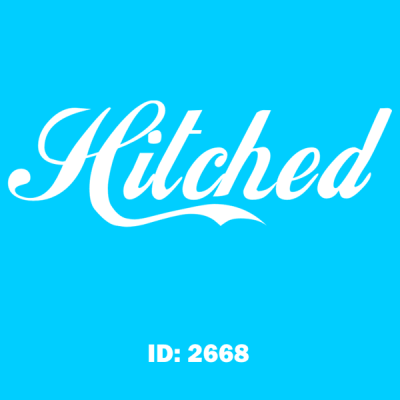 Hitched Iron-on Decal