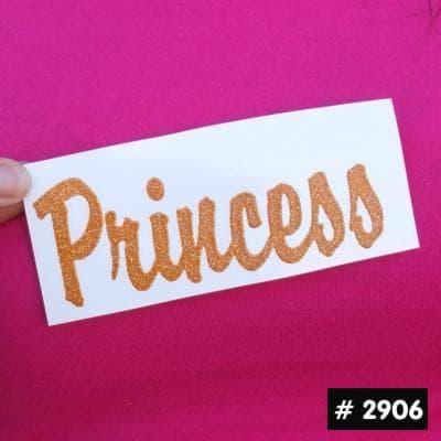 Princess Glitter Iron-on