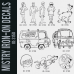Mystry Iron-on Transfers Decal Designs