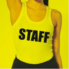 Staff Iron-on Decals