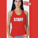 Staff Iron-on Transfers.