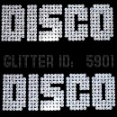 Disco Glitter Iron-on Decal
