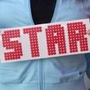 Glitter Star Iron-on Decals