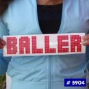 Baller Glitter Iron-on Decal