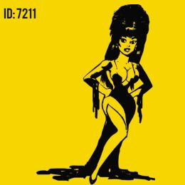 Elvira Iron-on Decal