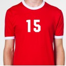 Player Iron-on Numbers 4 inch Team Kits.