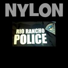 Nylon Iron-on Letters