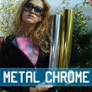 Metallic Chrome Transfer Material