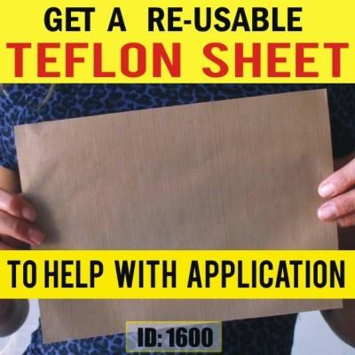 Teflon Sheets for Heat Transfers Application
