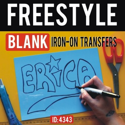 Freestyle Blank Flex Iron-on Transfers