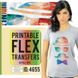 Blank Flex Print Iron-on