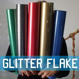 Glitter Flake Blank Transfer sheets