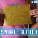Sparkle Glitter Blank Iron-on Transfer Sheets