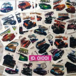 Sale 48 color Cars Iron-on Decals
