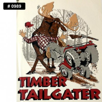 Tailgater Iron-on Decal