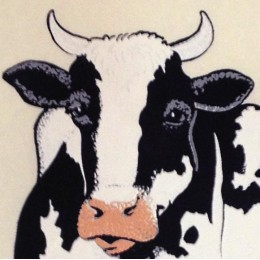 Cows Iron-on Decal