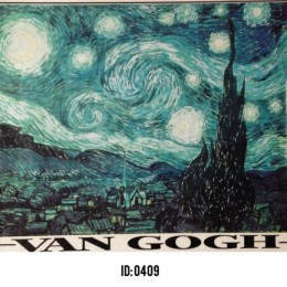 Van Gogh Iron-on Decal