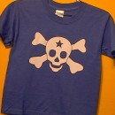 Blue t-shirt Skull and Bones