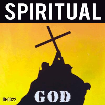Spiritual Iron-on Decal