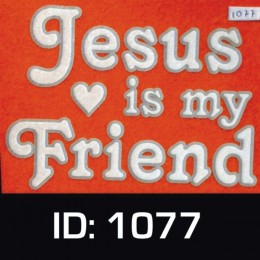 Jesus Friend Iron-on Decal