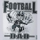 Football Dad Iron-on Decal