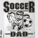Soccer Dad Iron-on Decal