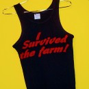 Survived the Farm Tank Top