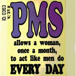 PMS Iron-on Decal