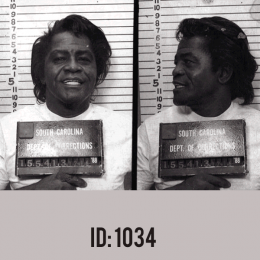 James Brown Mugshot T-shirts