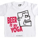 Beer is My Yoga T-Shirt Decal