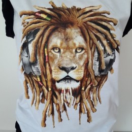 Rasta Lion Design