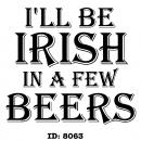 Irish Iron-on Decals