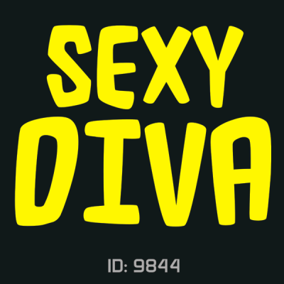 Sexy Diva Iron-on Decal