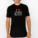 Love Conrad Black T-Shirts