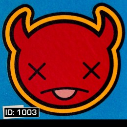 Devil X T-Shirt Decal