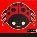 LadyBug Iron-on Decal