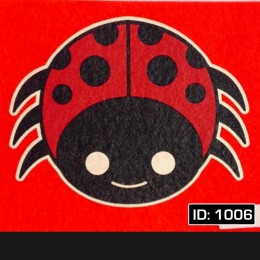 Lady Bug T-Shirt Decal