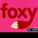 Foxy Iron-on Decal