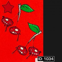 Cherries Iron-on Decal