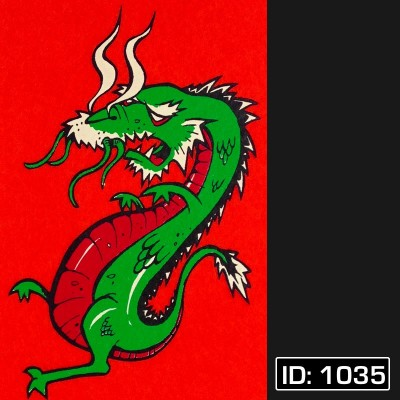 Dragon T-Shirt Decal