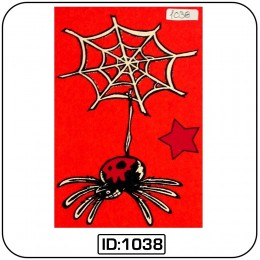 Spider Iron-on Decal