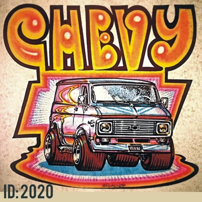 Chevy Van Vintage T Shirts