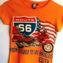 Biker NY to LA T-Shirts