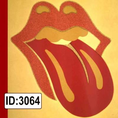 Rolling Stones Vintage Glitter Logo Tee